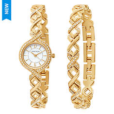 Armitron Women's Watch & Bracelet