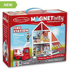Melissa and Doug Magnetivity - Fire Station