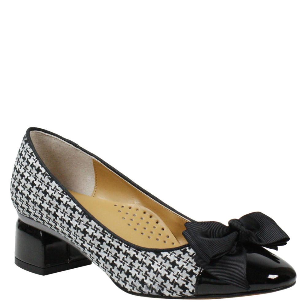 60s Shoes, Boots | 70s Shoes, Platforms, Boots J. Renee Gelar Womens Black Pump 11 W $99.95 AT vintagedancer.com