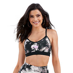Skechers Women's Ink Floral Sports Bra