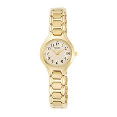 Citizen Ladies' 23mm Gold Stainless Steel Watch