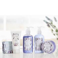 5-Piece Bath Set in Lavender Printed Box