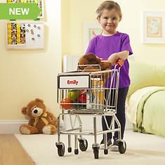Melissa & Doug Personalized Shopping Cart