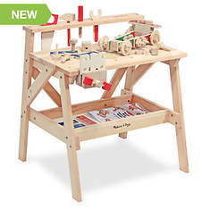 Melissa & Doug Personalized Wooden Project Workbench