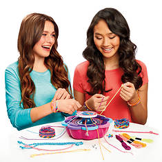 Cra-Z-Art Shimmer 'N Sparkle Friendship Bracelet Studio
