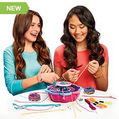 Cra-Z-Art Shimmer 'N Sparkle Friendship Bracelet Studio