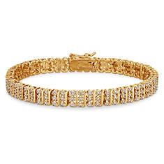 1/5 ct. tw. Diamond Tennis Bracelet-7