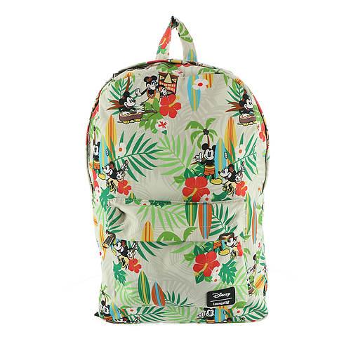 Loungefly Disney Mickey Minnie Hawaiian Backpack