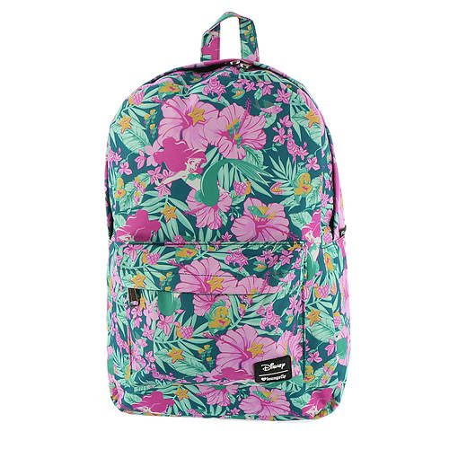 Loungefly Disney Little Mermaid Ariel Hibiscus Backpack