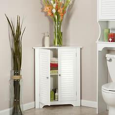Ellsworth 3-Shelf Corner Cabinet