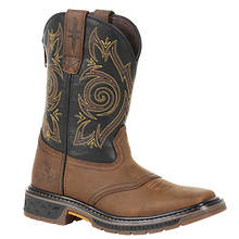 Georgia Boot Kids' Carbo-Tec Zip (Kids Toddler-Youth)