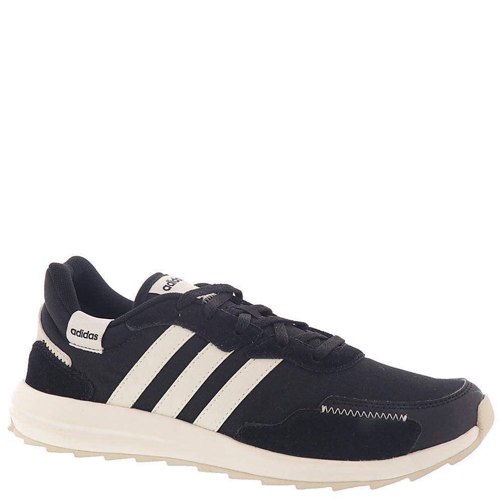 Retro Sneakers, Vintage Tennis Shoes adidas RetroRun X Womens Black Sneaker 7.5 M $64.95 AT vintagedancer.com