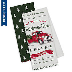 2-Piece Holiday Kitchen Towel Set