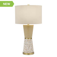 Catalina Lighting 30'' Hourglass Table Lamp