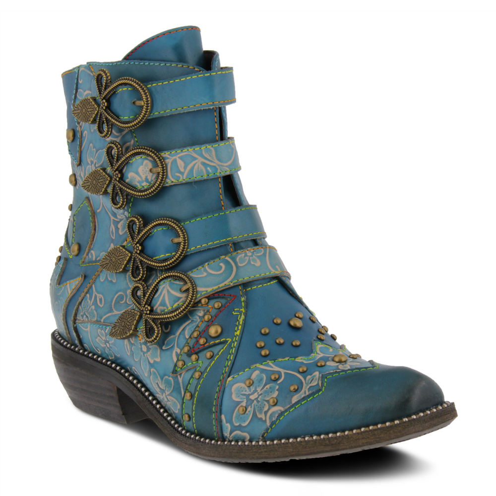 Cottagecore Clothing, Soft Aesthetic Spring Step Rodeha Womens Green Boot Euro 41 US 9.5 - 10 M $169.95 AT vintagedancer.com