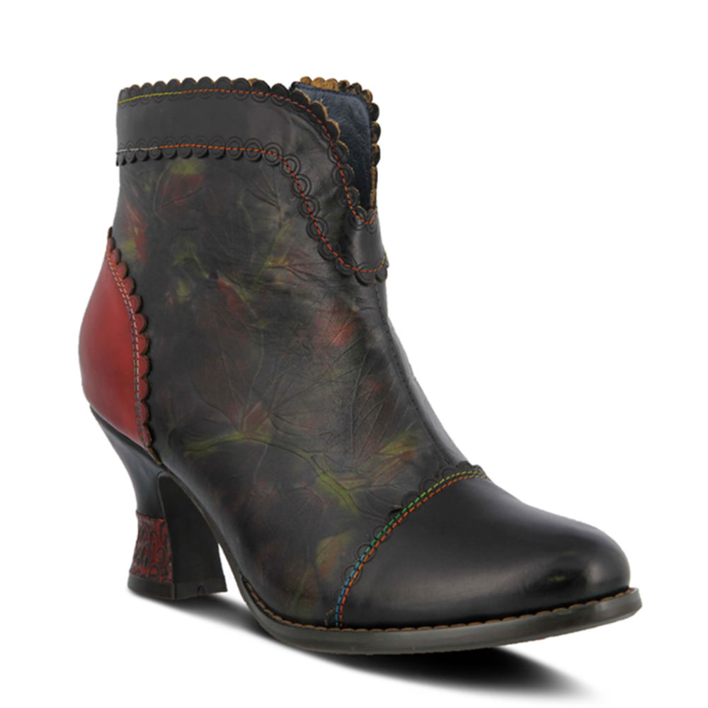 Vintage Boots, Retro Boots Spring Step Leafeel Womens Black Boot Euro 40 US 9 M $159.95 AT vintagedancer.com