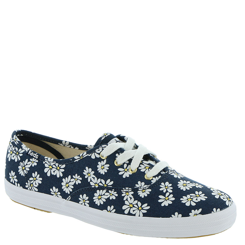 Vintage Sneakers for Men and Women Keds Champion Retro Daisy Womens Navy Oxford 6 M $54.95 AT vintagedancer.com
