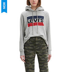 Levi's Women's Graphic Sport Hoodie Sportswear Logo