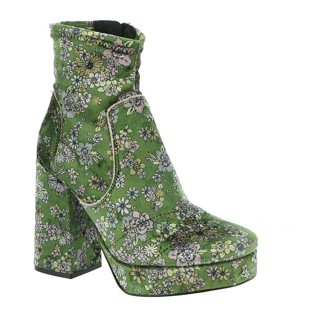 Vintage Boots- Winter Rain and Snow Boots Free People Smyth Platform Boot Womens Green Boot Euro 36 US 6 M $159.99 AT vintagedancer.com