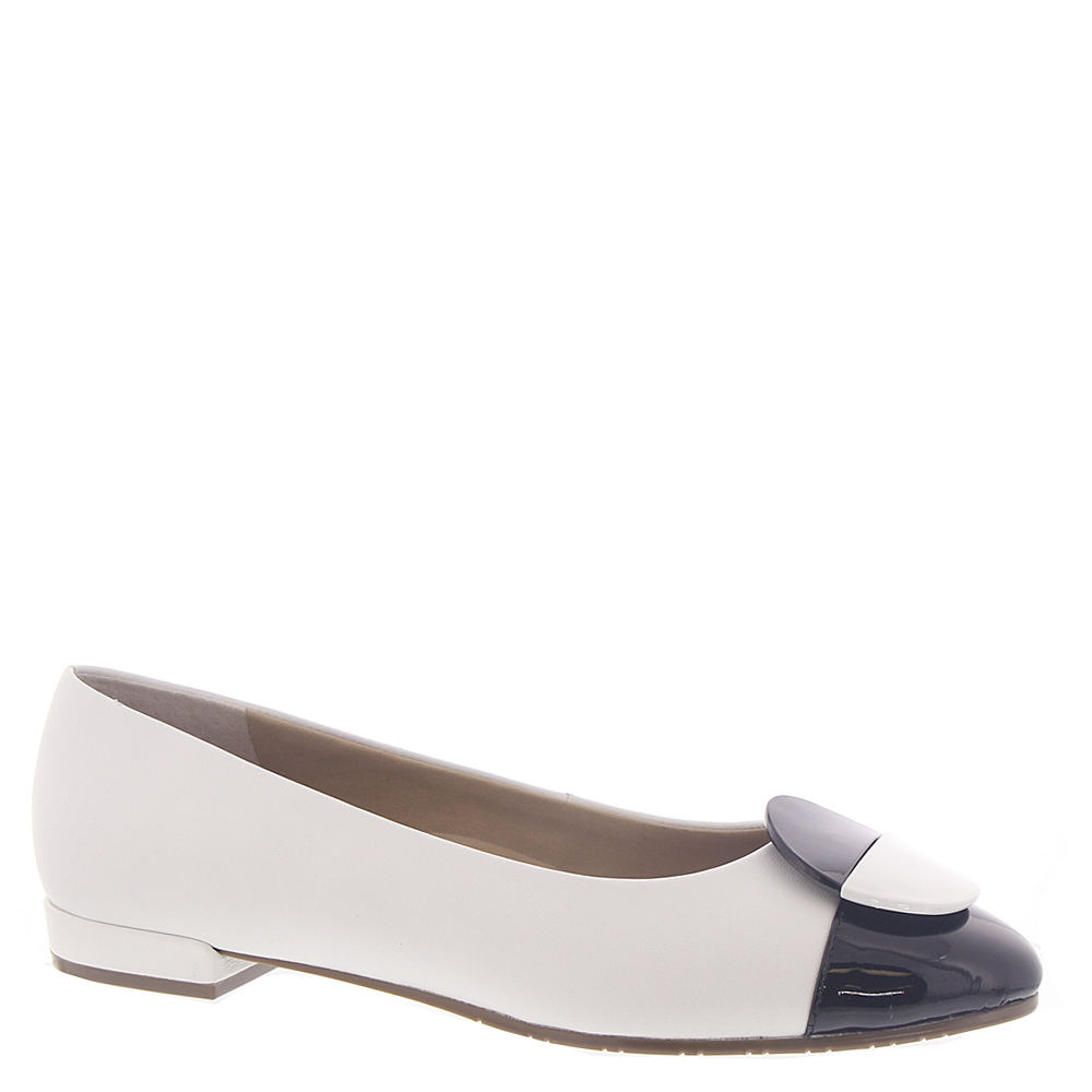 60s Shoes, Go Go Boots Van Eli Urbet Womens White Pump 10.5 N $54.99 AT vintagedancer.com