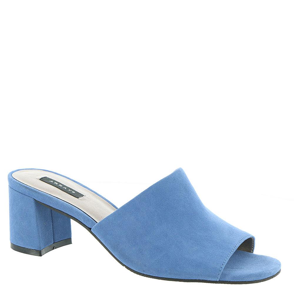 Vintage Sandals | Wedges, Espadrilles – 30s, 40s, 50s, 60s, 70s ARRAY Mia Womens Blue Sandal 6.5 M $79.95 AT vintagedancer.com