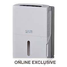 Arctic Wind 30-Pint Dehumidifier with Draining Option