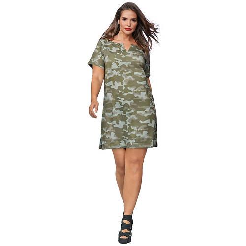 Printed T- Shirt Dress