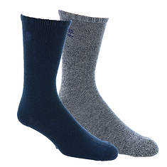 Timberland Men's Ribbed Welt Marled Boot Sock 2-Pack