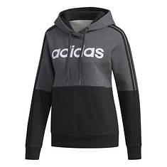 adidas Women's Essentials Colorblock Hooded Sweatshirt