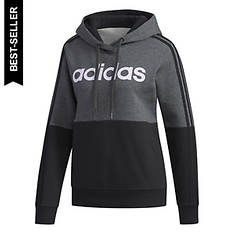 adidas Women's Essentials Colorblock Hooded Sweatshirt
