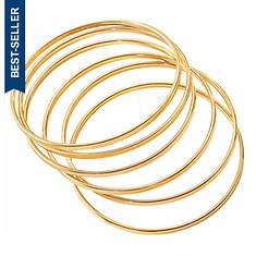 6-Piece Bangle Bracelet Set