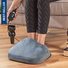 Sharper Image Heated Foot Pillow with Vibration