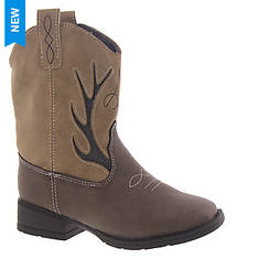 Baby Deer Western Boot w/Embroidery Toddler (Boys' Toddler)