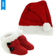 Baby Deer Santa Hat/Bootie Gift Set (Kids Infant)