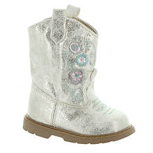 Baby Deer Western Boot w/Embroidery Infant (Girls' Infant)