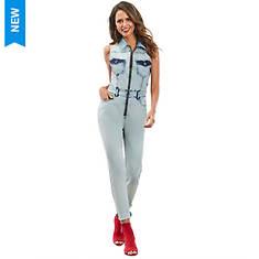 Zip-Front Jumpsuit