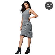 Side-Ruched Bodycon Dress