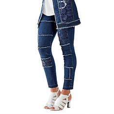 Lace Denim Jean