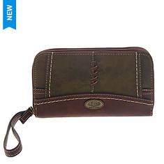 BOC Edgemere Double Zip Around Wallet