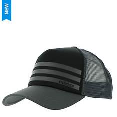 adidas Men's Linear 3-Stripe Trucker Hat