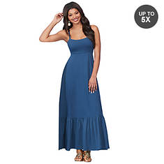 Jersey Tier Maxi Dress