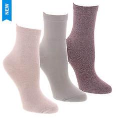 Steve Madden Women's SM42012 3PK Super Soft Crew Socks
