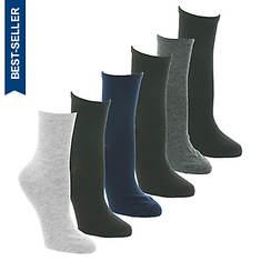 Steve Madden Women's SM45132 6PK Crew Socks