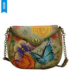 Anna by Anuschka Leather Sling Flap Bag