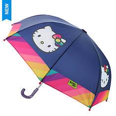 Western Chief Girls' Hello Kitty Rainy Bow Unbrella