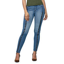 Zip-Front Jean