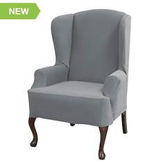 Serta Stretch Grid Slipcover Chair