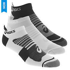 Asics Men's Quick Lyte Plus 3-Pack Low Socks