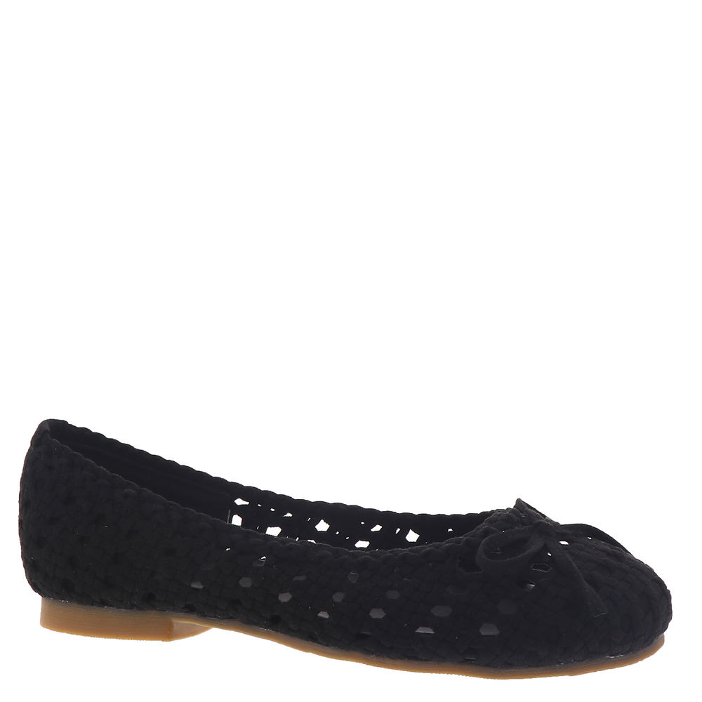 80s Shoes, Sneakers, Jelly flats Masseys Dawn Womens Black Slip On 7.5 M $69.95 AT vintagedancer.com