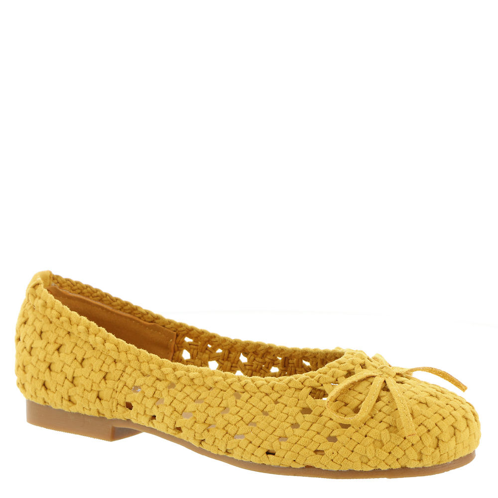 80s Shoes, Sneakers, Jelly flats Masseys Dawn Womens Yellow Slip On 8.5 M $69.95 AT vintagedancer.com